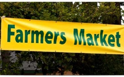 Irvine, CA – Banners Signs for Farmers Markets